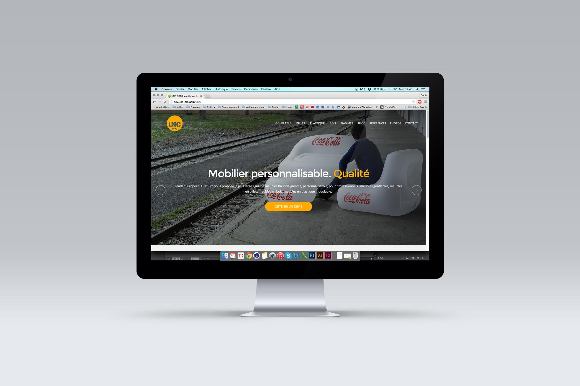 Site internet UNC Pro